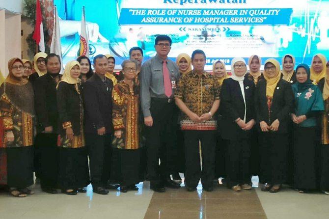 Hadiri Pelantikan Pengurus HPMI Riau. Inilah Harapan Direktur RSUD AA