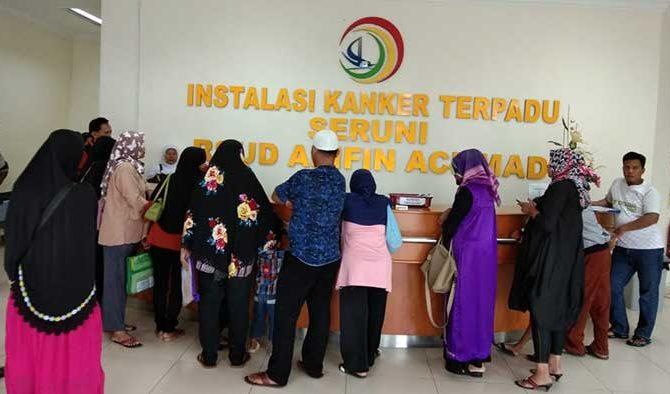 Hari Ini, Kunjungan Pasien RSUD AA 1.125 Orang