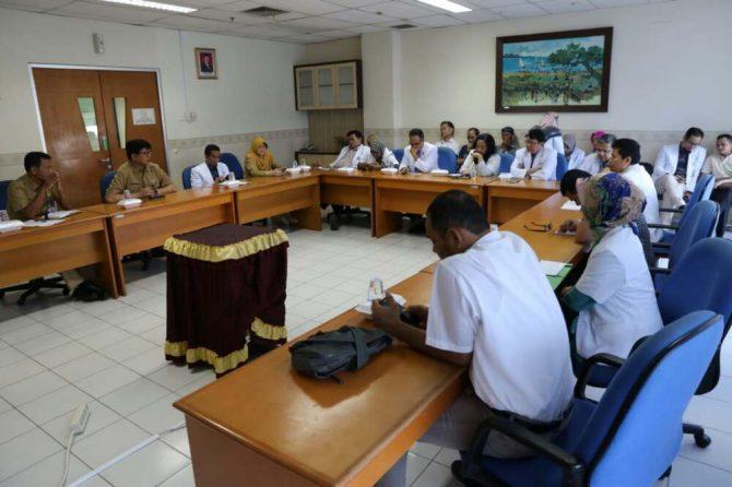 Komit Tingkatkan Pelayanan. Komite Medik RSUD AA Gelar Rapat
