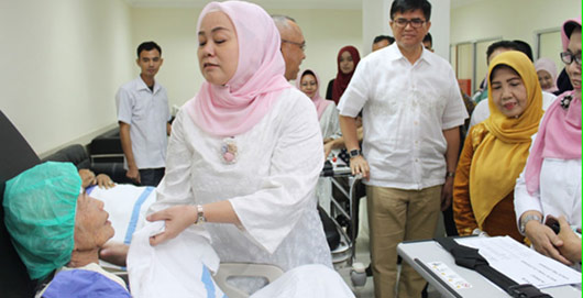 Baksos Operasi Katarak Di RSUD Arifin Achmad Provinsi Riau