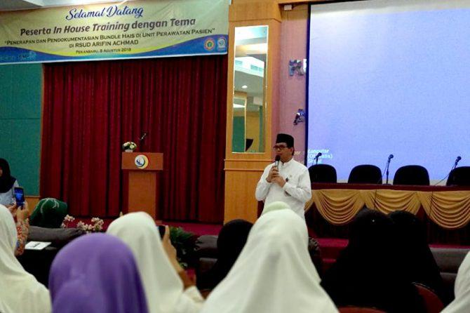 Pertama di Sumatera, Inhouse Training Penerapan dan Pendokumentasian