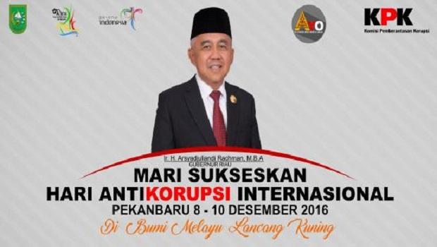 Mari Meriahkan Hari Anti Korupsi Internasional (HAKI)