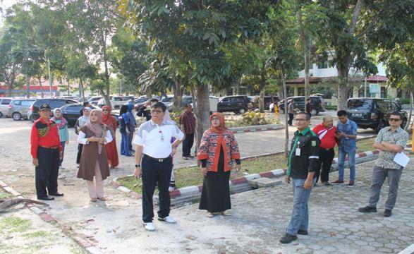 Direktur Meninjau Langsung Pelayanan dan Sarana Prasarana di RSUD Arifin Achmad