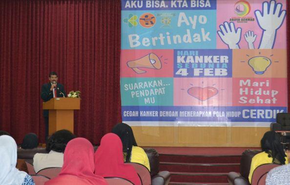 Seminar Medis Tentang Kanker Dalam Rangka Memperingati Hari Kanker Sedunia