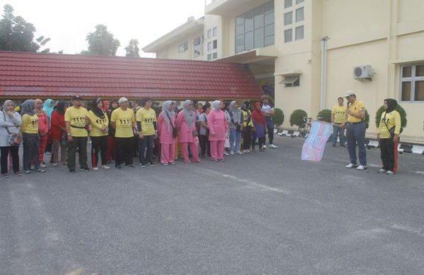 RSUD  Arifin Achmad Isi Peringatan Hari Kanker Sedunia Dengan Berbagai Kegiatan