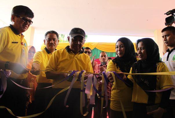 Peresmian Gedung Seruni Instalasi Kanker Terpadu RSUD  Arifin Achmad Provinsi Riau