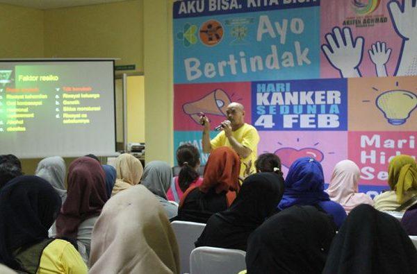 RSUD Arifin Achmad Gelar Seminar Awam Tentang Penyakit Kanker