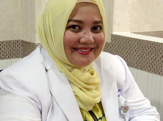 dr. Dewi Shandy Laila, M.Ked (Ped),Sp.A