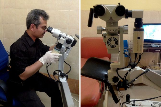Kolposkop, Pendeteksi Dini Kanker Serviks Hanya Ada di RSUD AA