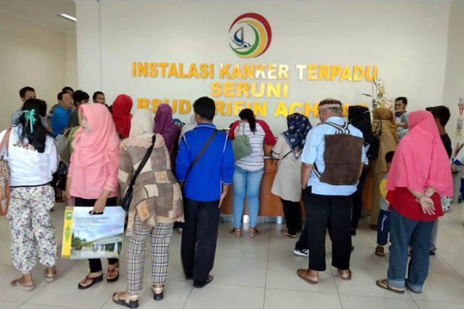 Bedah Onkologi Membludak, Ini Rincian Pasien Poli Rawat Jalan RSUD Arifin Achmad
