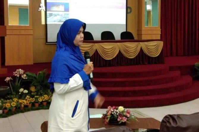 RSUD Arifin Achmad Berbagi Ilmu dengan UP Tambusai