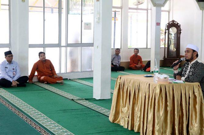 Kajian Dhuha di RSUD Arifin Achmad: Ciri-ciri Hati yang Keras