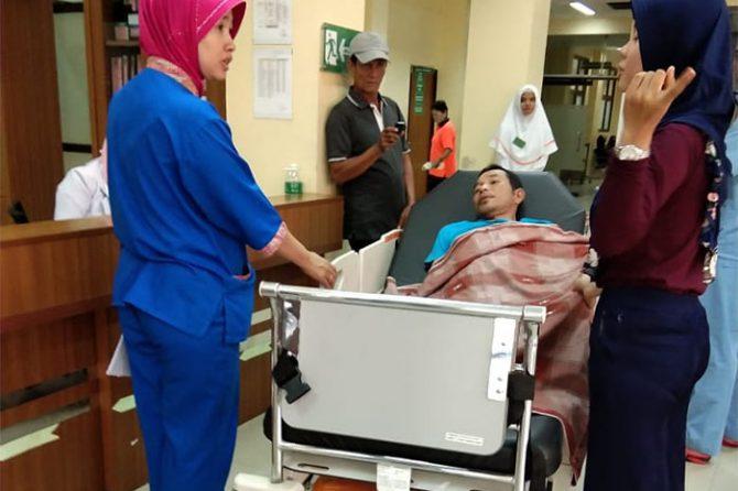 Satu Pasien Balita Meninggal Sebelum Dirawat di IGD RSUD Arifin Achmad
