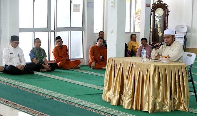 Kajian Dhuha Masjid RSUD Arifin Achmad: Tanda-tanda Hati yang Selamat