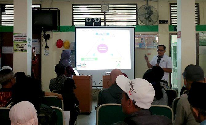 Konsultan Endoktrin Metabolik dan Diabetes RSUD Arifin Achmad: Jangan Bangga Gemuk