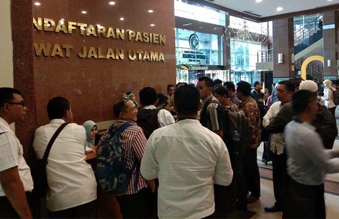 RSUD Arifin Achmad Cek Kesehatan 289 Calon Anggota KPU se-Riau