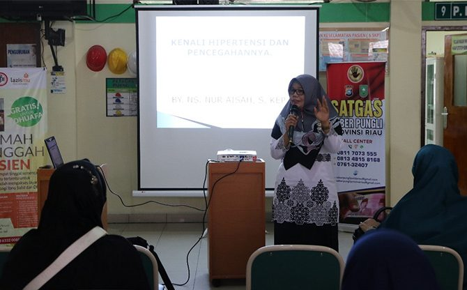 Dari RSUD Arifin Achmad: Kenali Hipertensi dan Pencegahannya