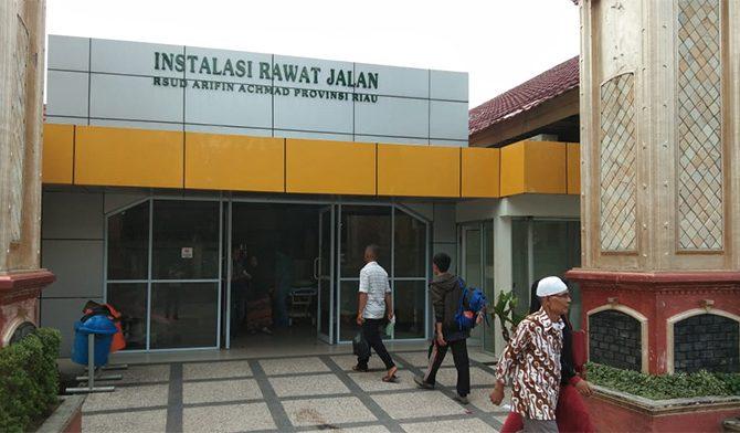 Awal Tahun, Kunjungan ke Poli Rawat Jalan RSUD Arifin Achmad 428 Pasien