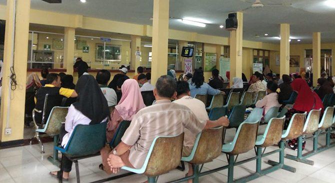 Jumat Ini, Kunjungan ke RSUD Arifin Achmad Sebanyak 630 Pasien