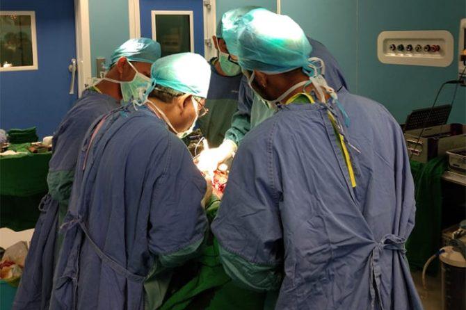 RSUD Arifin Achmad Kembali Berhasil Operasi Bypass Jantung 3 Pasien