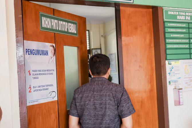 Jelang Pergantian Tahun, Pasien Poli Syaraf Terbanyak Kunjungi RSUD Arifin Achmad