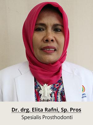 Dr.drg. Elita Rafni, Sp. Pros
