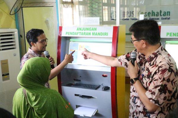 Dengan Anjungan Pendaftaran Mandiri (APM), Antrean Pendaftaran hanya 5 Menit