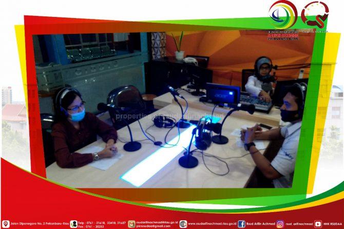 """RSUD Arifin Achmad Provinsi Riau Gelar Live Talkshow tentang """" Pemilihan Radiograf untuk pemeriksaan Gigi dan Mulut """""""