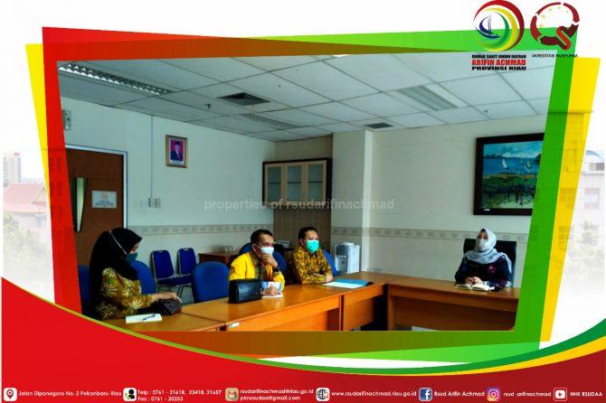 RSUD Arifin Achmad Provinsi Riau terima study banding RSUD Bangkinang