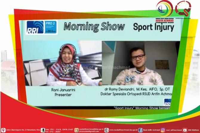 Edukasi Sport Injury