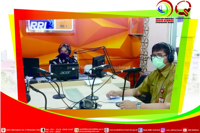 Pelayanan RSUD Arifin Achmad Provinsi Riau Pada Masa Pandemi COVID-19