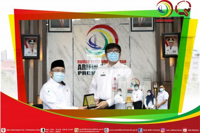 RSUD Arifin Achmad Provinsi Riau Terima Kunjungan Komite III DPD RI