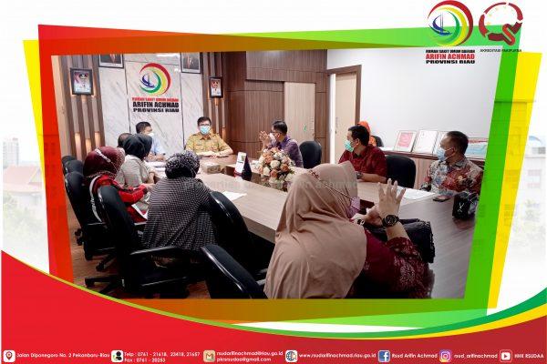 RSUD Arifin Achmad Terima Kunjungan Kerja Komisi IV DPRD Provinsi Jambi