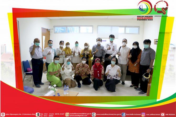Peringati Hari Ginjal Sedunia, RSUD Arifin Achmad Provinsi Riau Akan Kembangkan Layanan Transplantasi Ginjal.